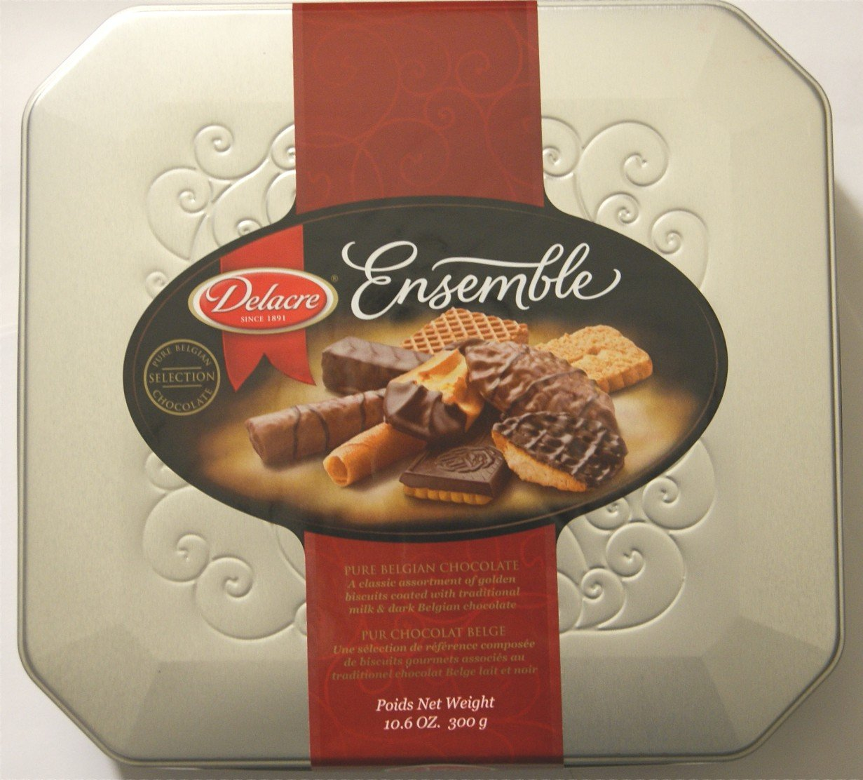 Amazon.com: Delacre Ensemble Pure Belgian Chocolate Biscuits ...