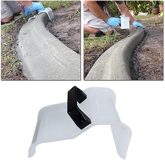 Molde para hormigón de Christy Harrel de plástico, molde de hormigón reutilizable, duradero para jardín, césped, entrada, caminos y pavimentos: Amazon.es: Hogar