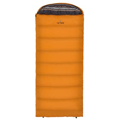 TETON Sports Celsius Regular Sleeping Bag; 0 Degree Sleeping Bag Great for Cold Weather Camping; Lightweight Sleeping Bag; Hiking, Camping; Great to Come Back to After a Long Day on the Trail