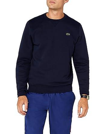 084a602c8cf2 Lacoste Herren Sweatshirt SH7613 - 00, Blau (Marine), X-Small (