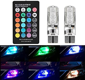 Amazon.com: Car Fog Lights,EJ\'s SUPER CAR 6 LED T10 5050 SMD ...