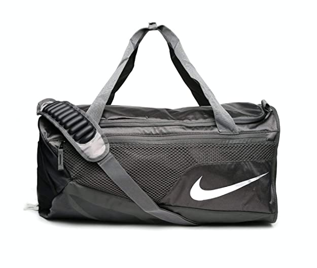 db292527e19f Nike Vapor Max Air Expandable Duffle Bag - BA5248-038 - Medium - Black Grey   Amazon.co.uk  Shoes   Bags