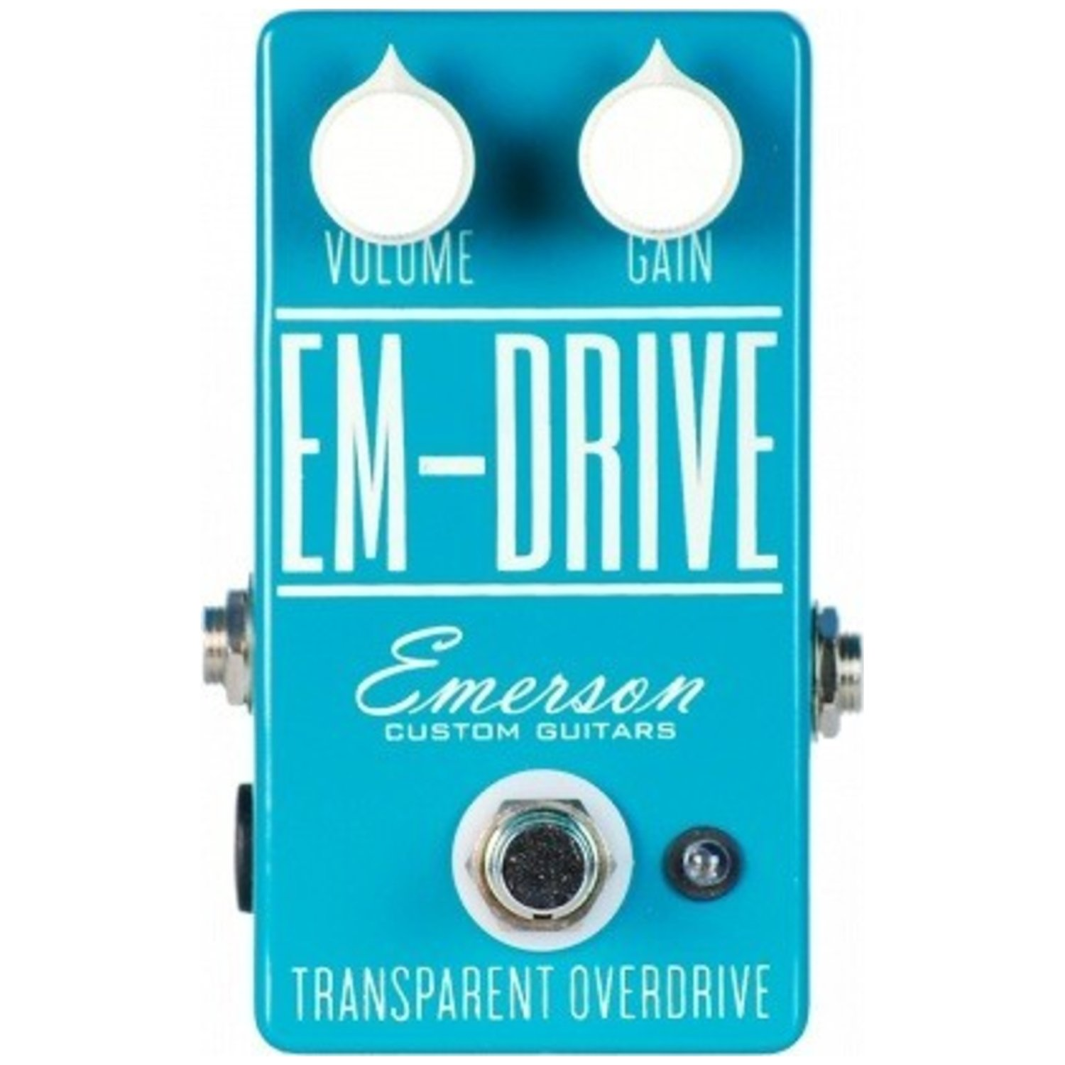 emerson guitars em drive overdrive pedal musical