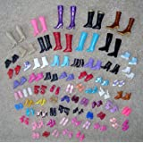 12 Pairs Creative Combination BARBIE Doll SHOES