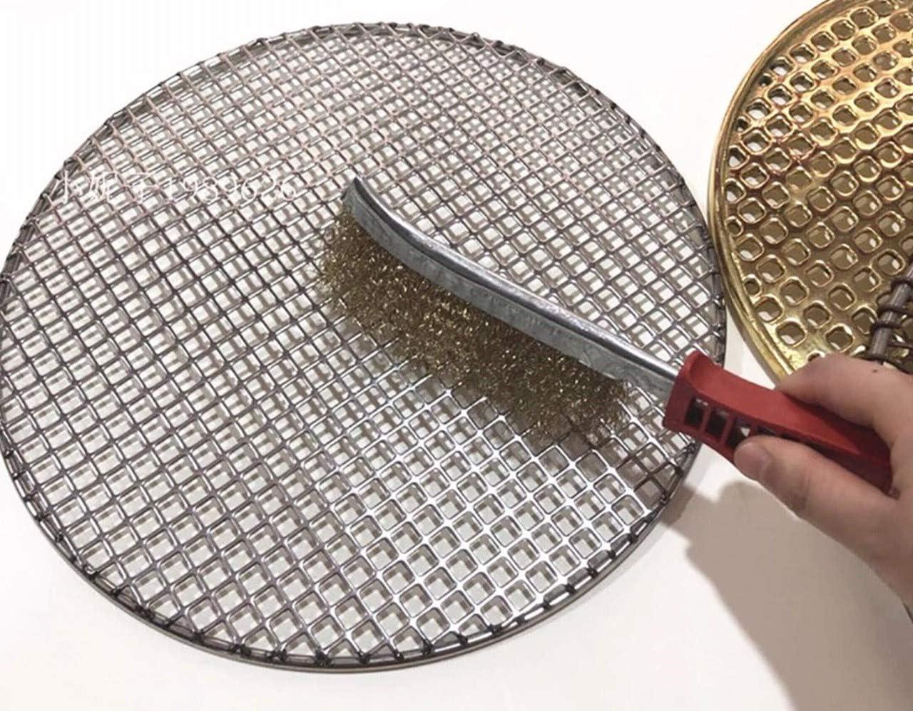 Brosse /à main m/étallique convexe 1 rang laiton alliages acier Brossage et nettoyage m/étaux non ferreux Kibros 8SPIVL bois et mat/ériaux creux SKRIB