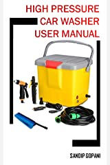 Portable 12V DC Electric High Pressure Car Washer Washer Machine Spray Gun with 16 Liter Water Tank: User Manual (20191218) Kindle Edition