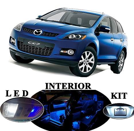 Luces LED para Mazda CX-7 CX7 Premium azul LED paquete actualización – interior +