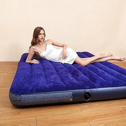 Saco de dormir colchón de aire Colchón de aire de espesamiento para el hogar cama plegable
