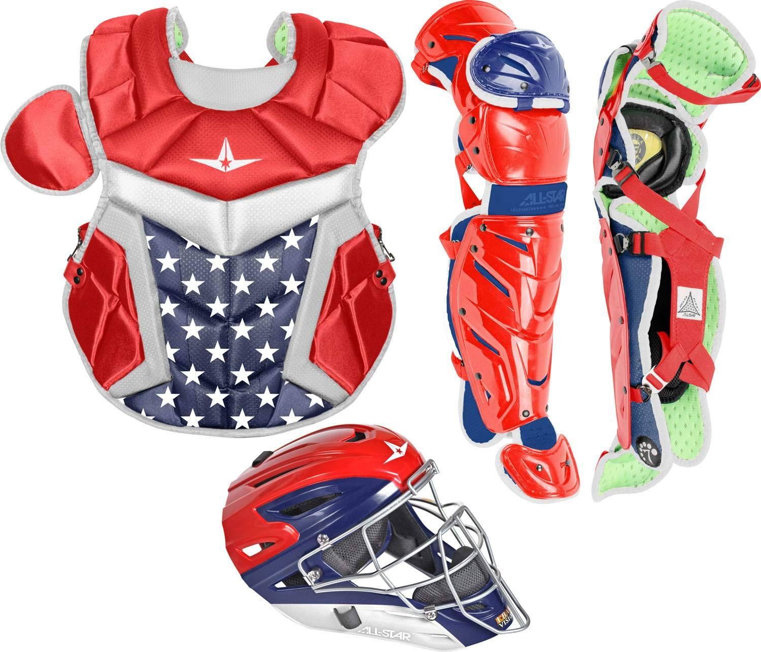 All-Star Inter System7 Axis USA Pro Catcher's Set by All-Star