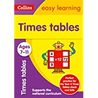Times Tables Ages 7-11: Ideal for Home Learning
