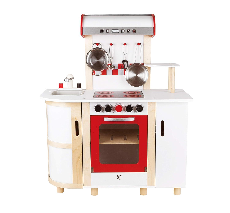 Hape E8018 - Cocina de juguete de madera, multicolor: Amazon.es ...