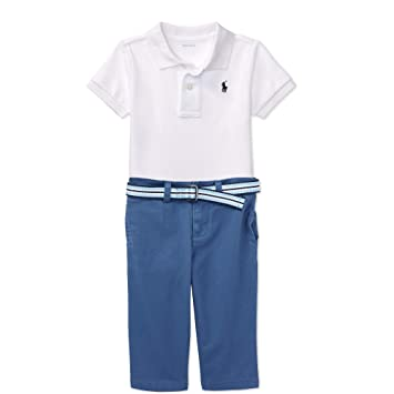 9651b95f Image Unavailable. Image not available for. Color: Ralph Lauren Baby Boys  Polo Shirt ...