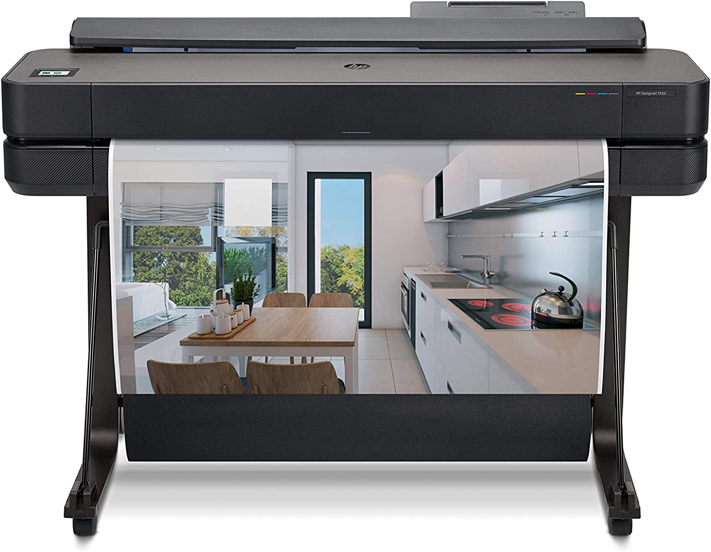 HP DesignJet T650 Large Format Wireless Plotter Printer - 36