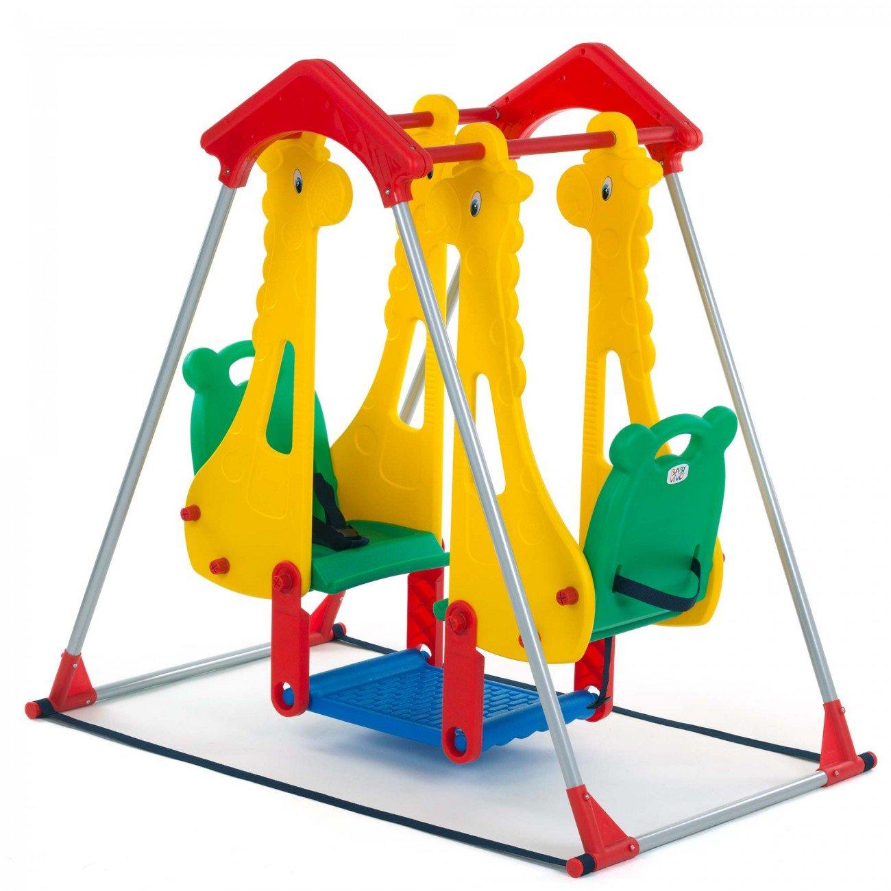 baby vivo columpio para nios parque infantil balancn interior y aire libre doble asiento juegos jardn