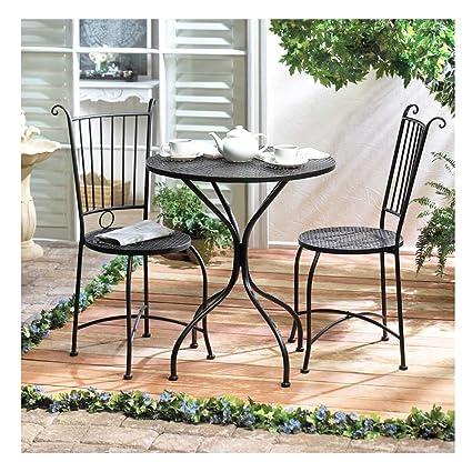 Amazon.com: SHOPPERs CHOICE - Juego de 3 muebles de jardín ...