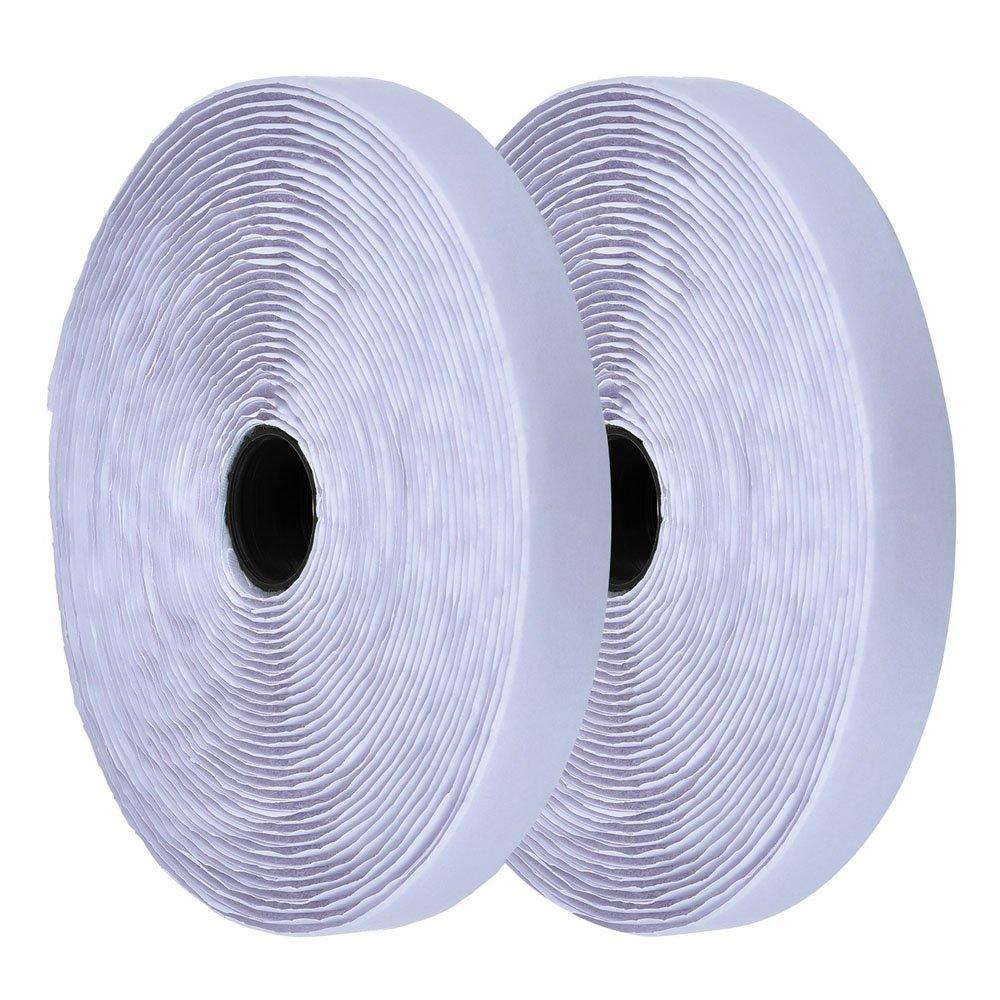 Simply the Best de - Cinta de Best Gancho y Bucle de Color Blanco y Almohadillas ~ Pegar en ~ 50 mm de Ancho ~ Cinta Adhesiva de Tela reciclable 53fbe0