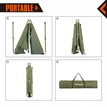 Portability of Camping Cot