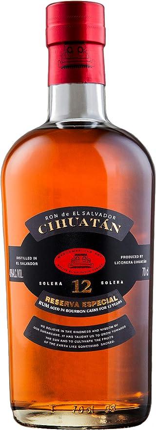 Cihuatán 12 Solera Reserva Especial Rum 40% - 700 ml in ...