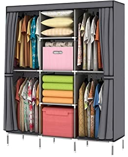 Merveilleux YOUUD Wardrobe Storage Closet Clothes Portable Wardrobe Storage Closet  Portable Closet Organizer Portable Closets Wardrobe Closet