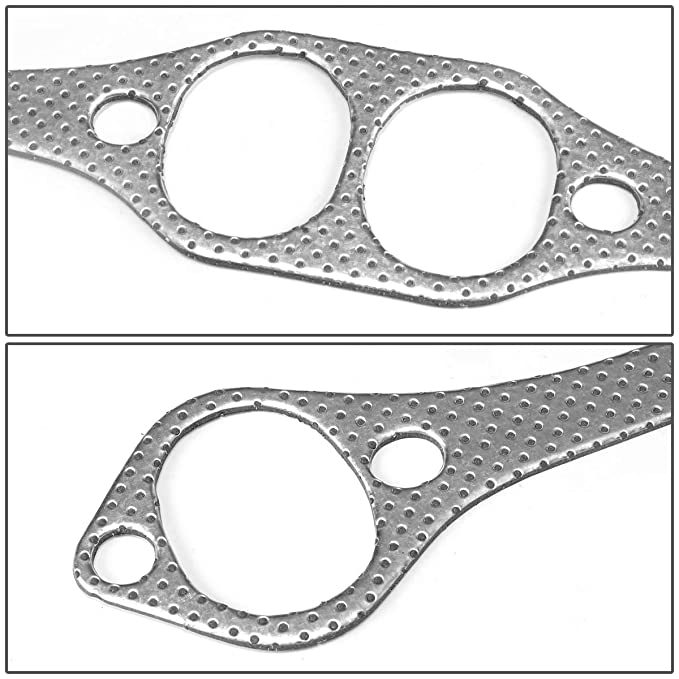 Amazon Com Aluminum Exhaust Manifold Header Gasket Set For Chevy