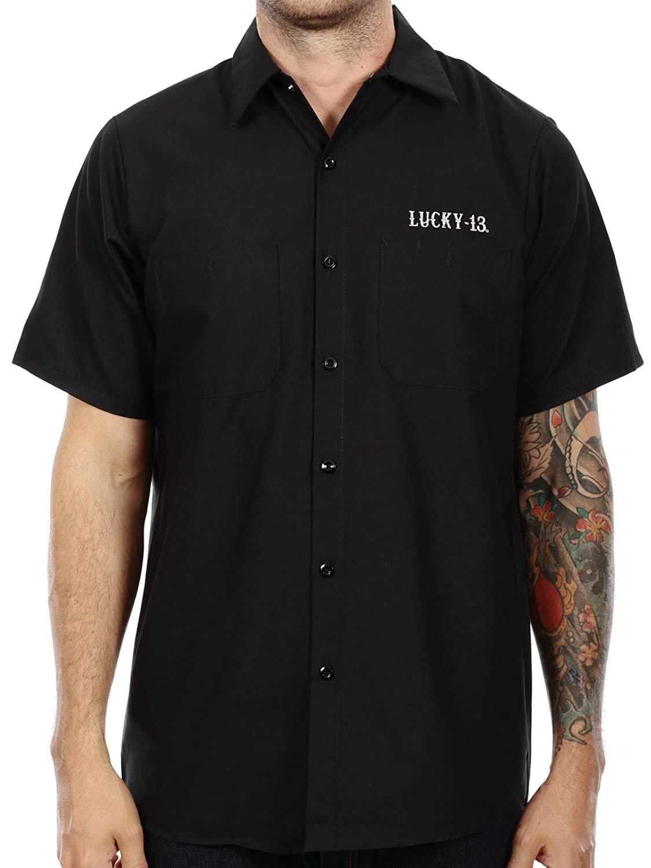 Lucky 13 Mens Old Custom Workshirt