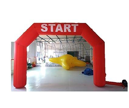 Amazon.com: inflatable4less 15 ft hexagonal hinchable ...