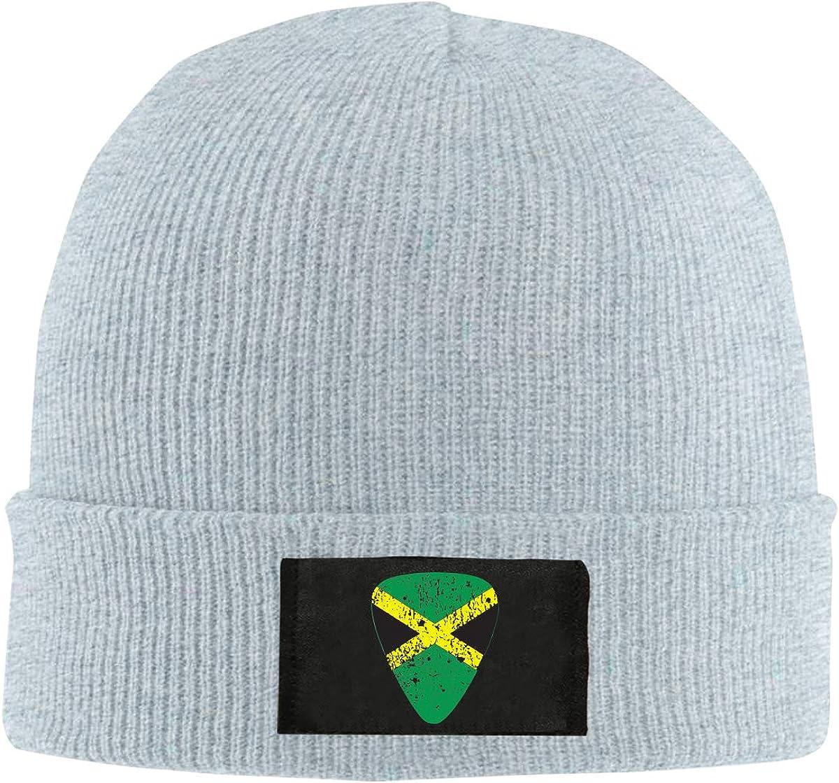 Jamaican Flag Picks Men Women Knitted Hat Winter Warm Snowboarding Hat