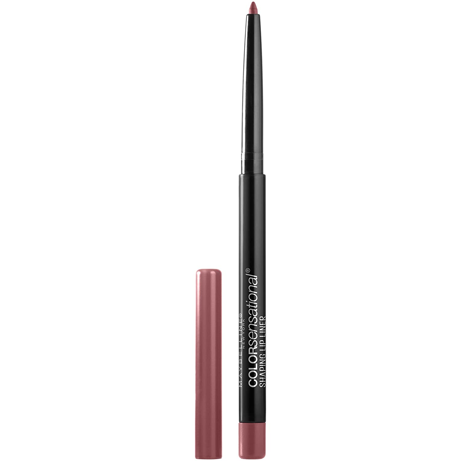 Maybelline New York Color Sensational Shaping Lip Liner Makeup, Raw Chocolate, 0.01 oz. 041554549355