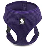 Treat Me Dog Vest Harness of Sandwich Mesh Breathable Simple Design for Outdoor Training Walking