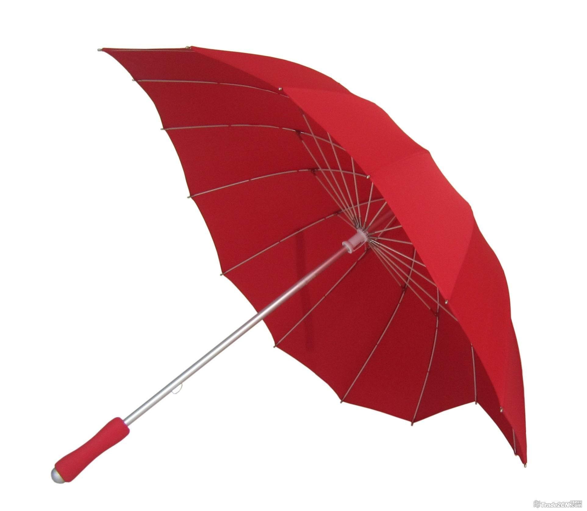 Love Heart High Quality Umbrella - Red