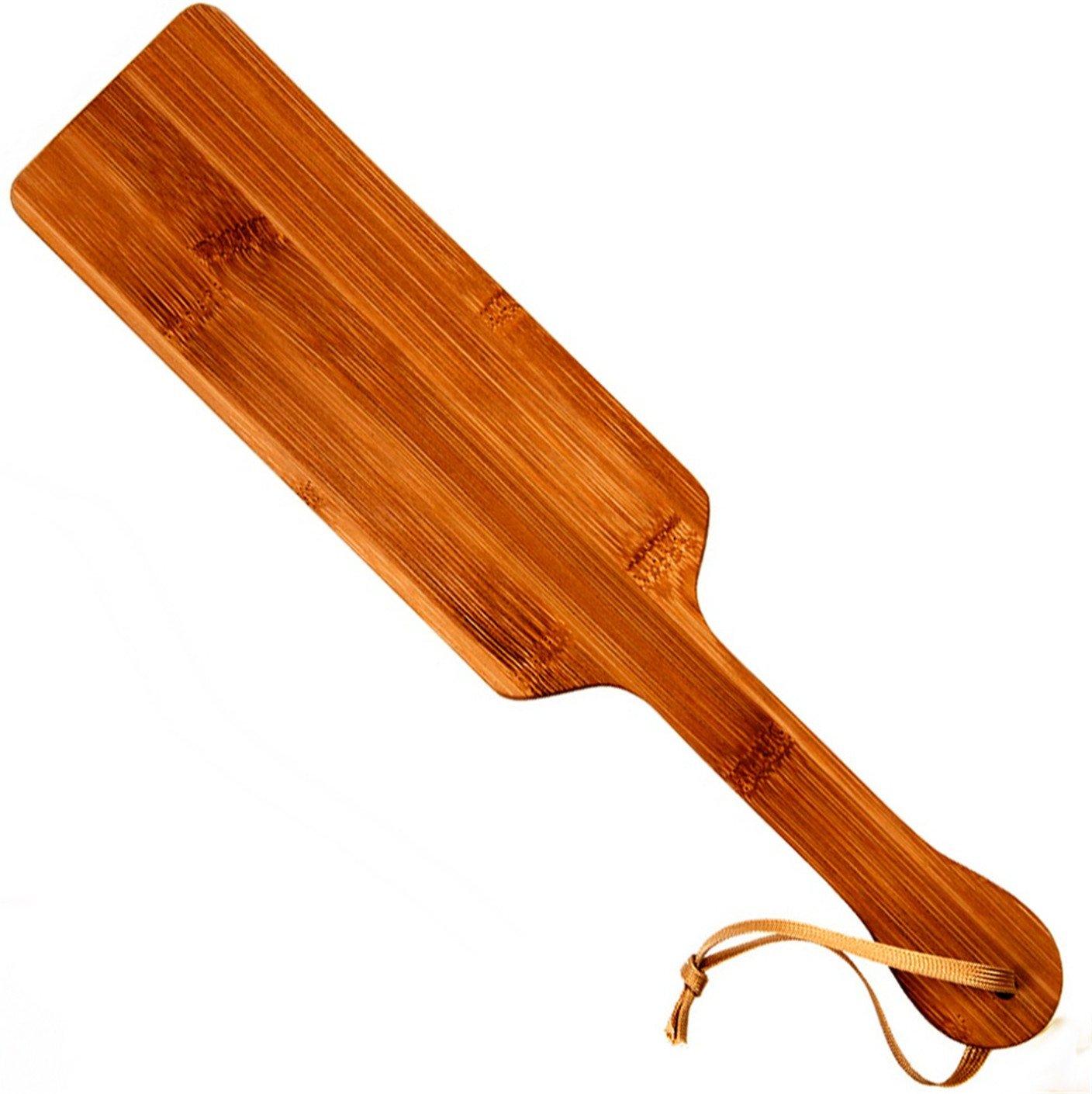 Adult SM Game Sex Wood Spanking Paddle Print Natural Bamboo clap Slap Flap Pat Beat Whip lash flog Ass Toy