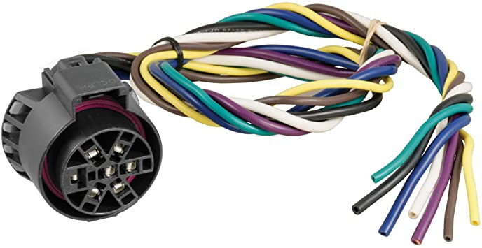 Amazon.com: CURT 56229 Replacement USCAR Connector Wiring Harness, 24-Inch  Wires, 7 Pin Trailer Wiring: AutomotiveAmazon.com