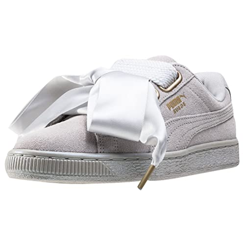 timeless design d7701 10447 Sneaker Puma Suede Scarpe Satin it E Donna Borse Grigio Amazon Heart xBq4F