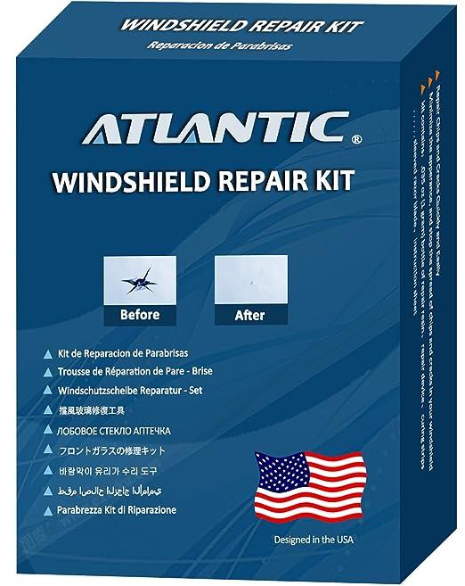 Amazon.com: Atlantic Windshield Repair Kit for 1-3 Chips, Fix All ...