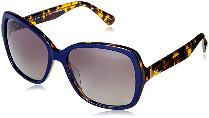ff28448a6704 Image Unavailable. Image not available for. Color: Kate Spade Women's  Karalyn/s Polarized Square Sunglasses ...
