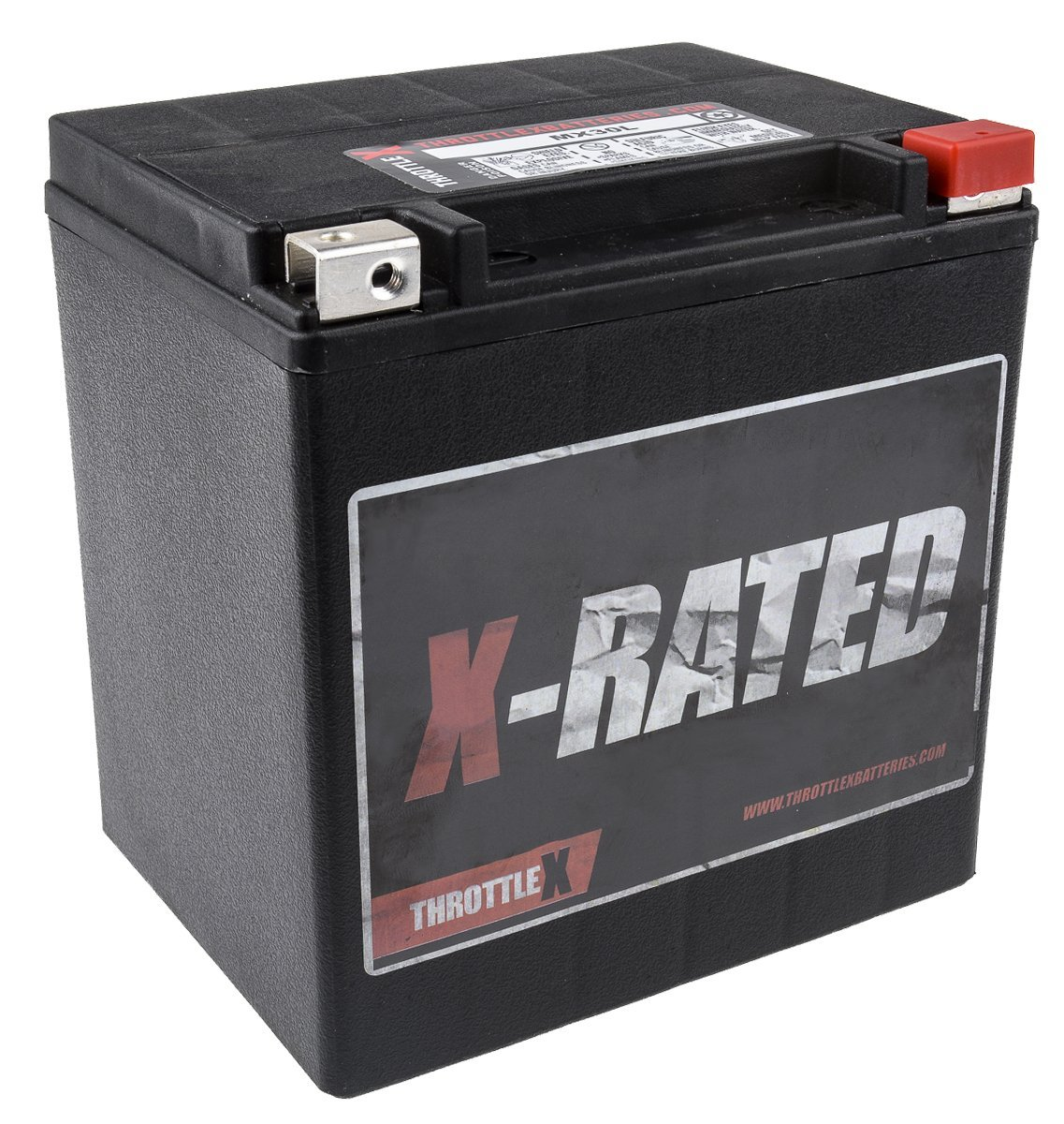 MX30L - MOTORCYCLE BATTERY - 600+ CCA ThrottleX Batteries