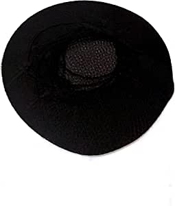 Elastic hair net for hair styling and assembled soft black color number 24 pieces