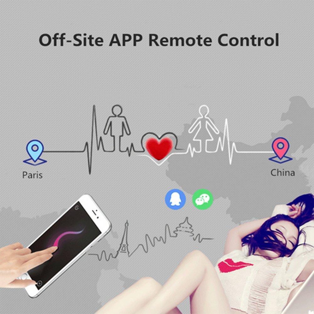 Vibrador Saltando Huevo Remoto Punto G Estimulador App Control Remoto Huevo Juguete Sexual Pareja 8 Vibrando Ballena,azul 79eafb
