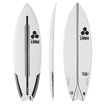 Channel Islands Rocket - Tabla de Surf de 6 pies, Color Blanco