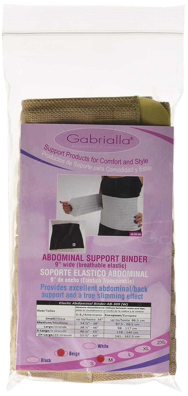 751a2c88c772e Amazon.com  GABRIALLA AB-309(W) Breathable Abdominal Support Binder (9