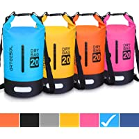 Blackace Borsa Impermeabile, 5L 10L 20L 30L Dry Bag/Sacco Sacchetto Impermeabile con Cinghia Regolabile Lungo per Kayak Tour in Barca Canoa/Pesca/Rafting/Nuoto/Snowboard