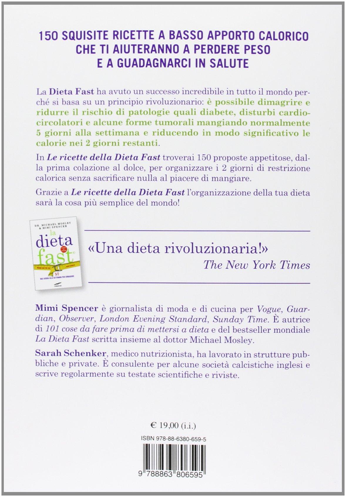Le ricette della dieta fast pdf