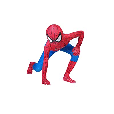 Superhero Kids Bodysuit Costumes Lycra Spandex Halloween Cosplay Costumes: Clothing