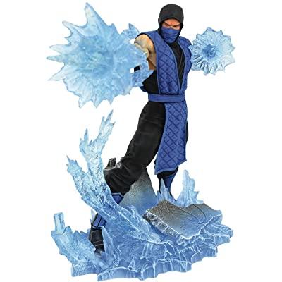 DIAMOND SELECT TOYS Mortal Kombat Gallery: Sub-Zero PVC Figure: Toys & Games