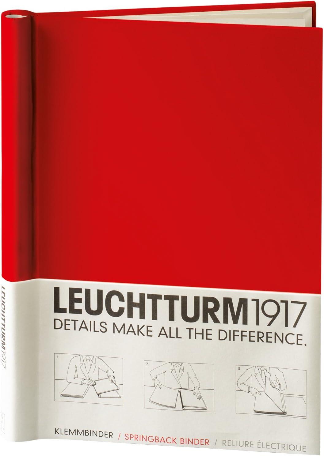 Red LEUCHTTURM1917 341740 Sprinback Binder PEKA for 150 Sheets