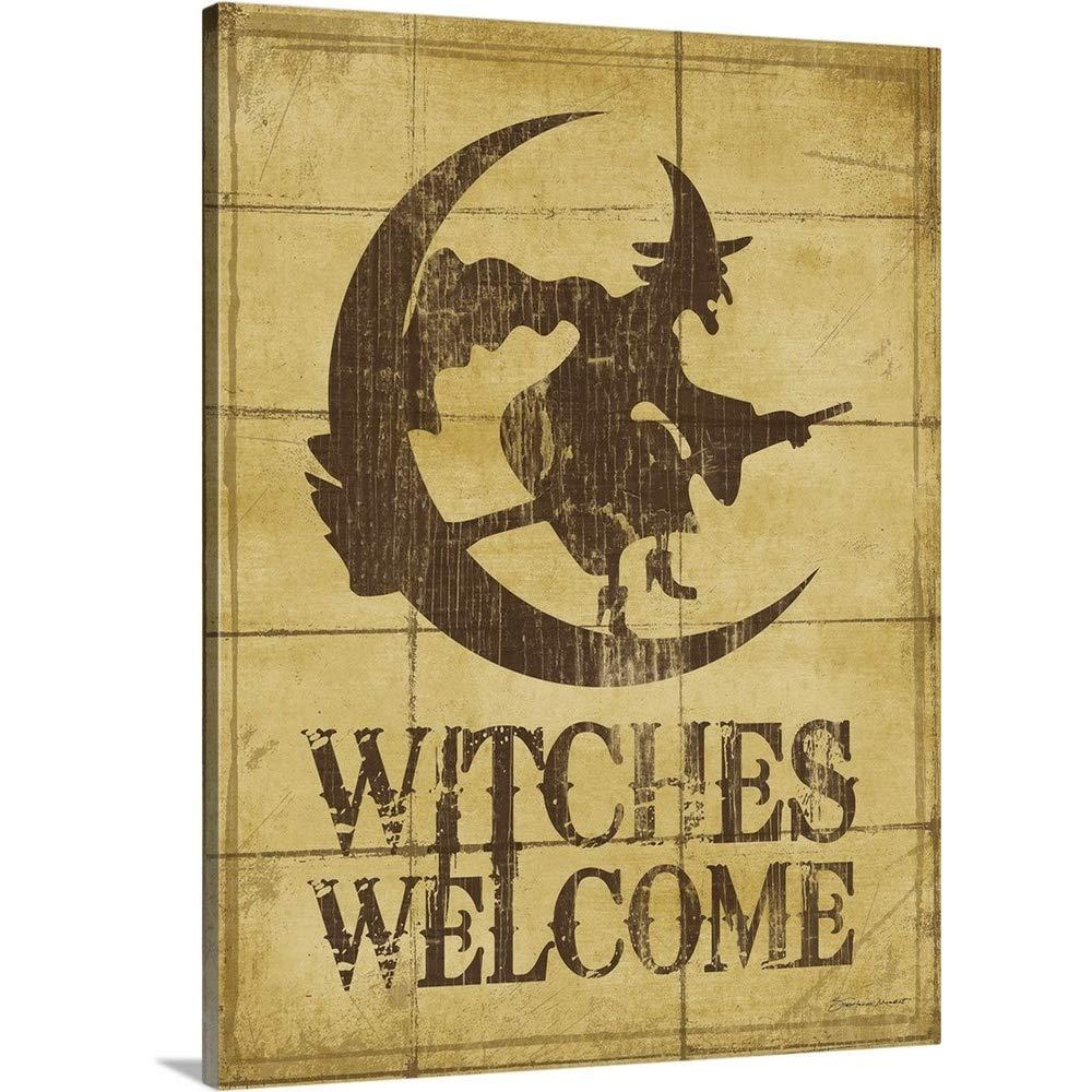 Stephanie Marrottプレミアムシックラップキャンバス壁アート印刷題名Witches Welcome 30