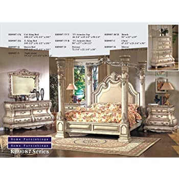 Luxury Canopy Bedroom Set Interior