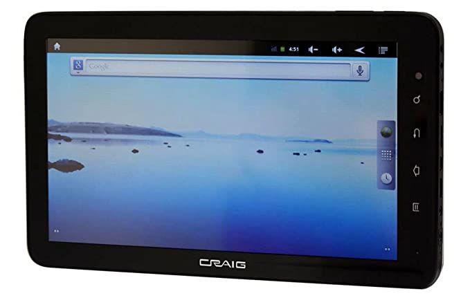 amazon com craig electronics 10 inch capacitance tablet android rh amazon com Craig Tablet Computer Craig Android PC