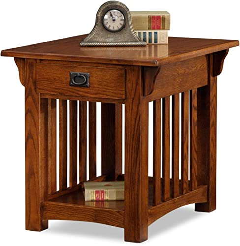 Leick Furniture Mission Drawer End Table