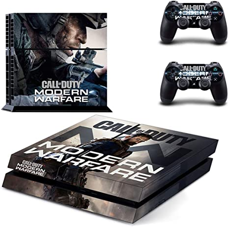 Ps4 Skin Sticker Vinyl Decal For Console 2 Controllers Call Of Duty Modern Warfare Amazon Co Uk Pc Video Games